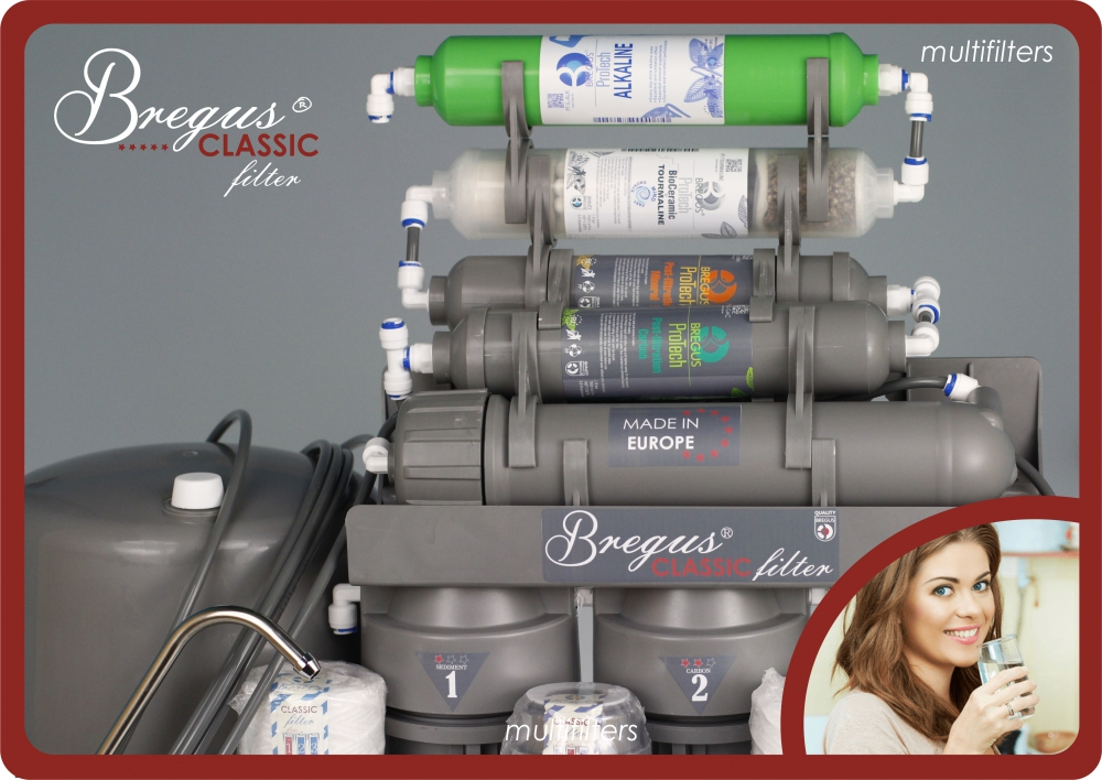 System Odwróconej Osmozy Bregus® Classic Silver RO8 - 1