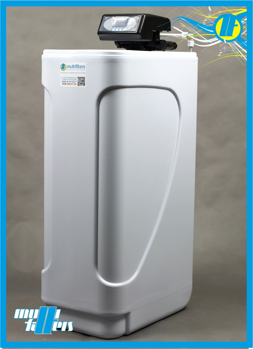 System złożonej filtracji wody Multifilters KB-3025-Multi - 4