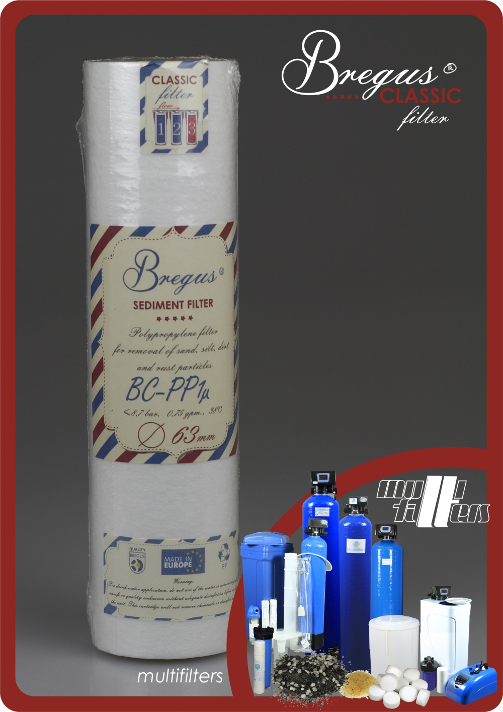 Bregus® Classic Pianka Ø63mm - 2
