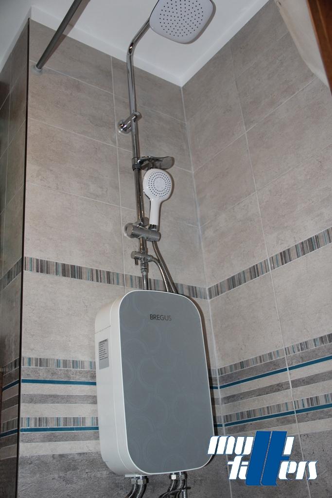 Kompaktowy zmiękczacz Bregus® Shower Panel - 1