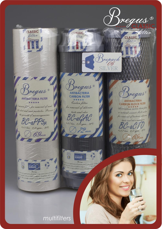 Zestaw wkładów Bregus® Classic 06 Silver - 1