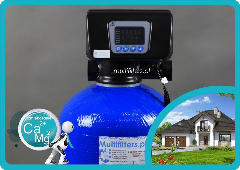 System zmiękczający Multifilters MF 30 RZ z głowicą Automatyczną + by-pass - 2