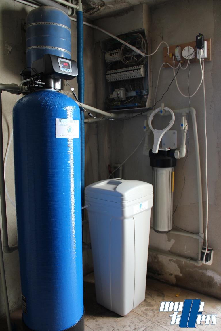 System zlozonej filtracji wody Multifilters MF-40-MULTI - 1