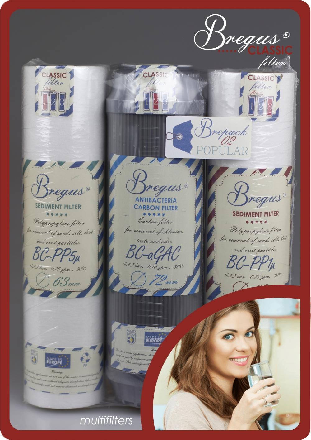 Zestaw wkładów Bregus® Classic 02 Popular - 1