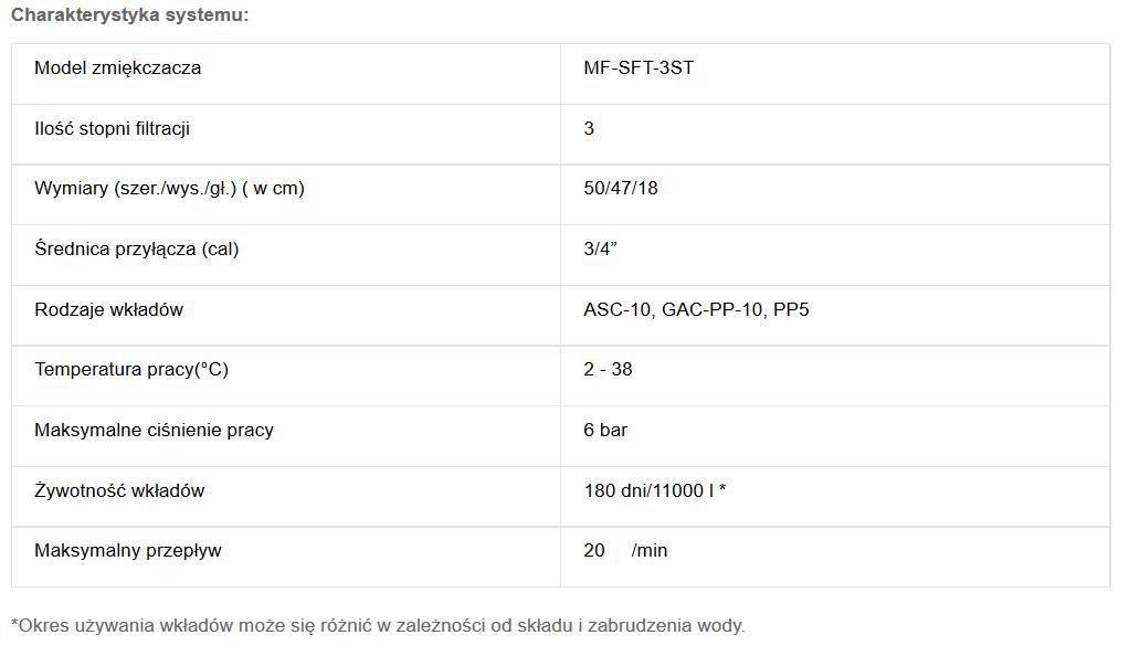 Zmiękczacz 3 stopniowy Multifilters - 2