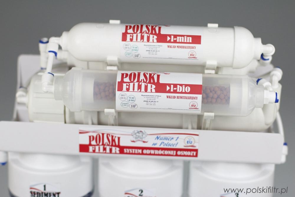 System Odwróconej Osmozy Polski Filtr RO7 - 9