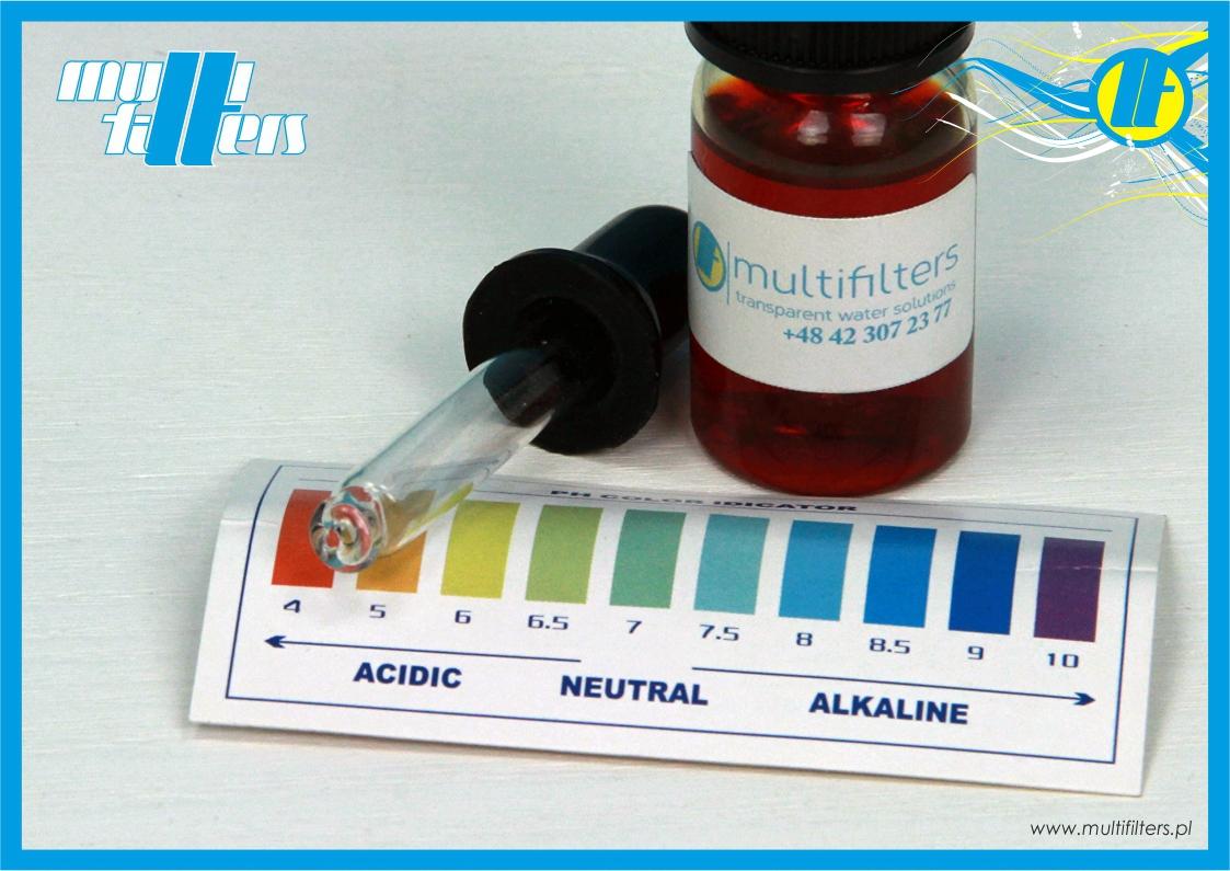 Tester pH w płynie 4-10pH - 1
