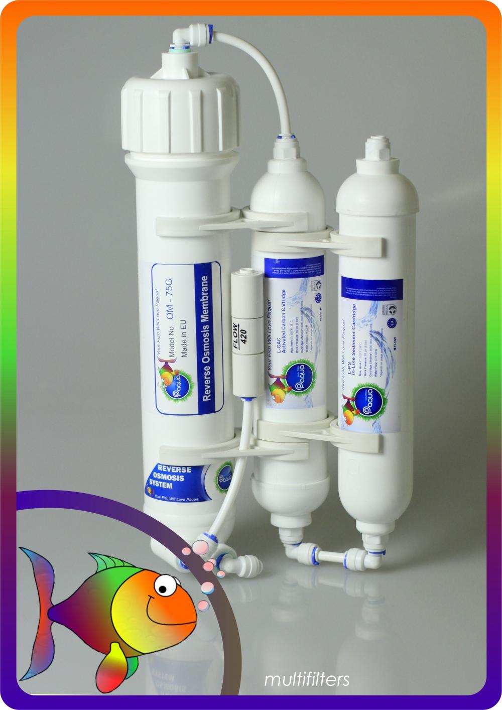 Filtr Akwarystyczny Osmoza System Oczyszczania Wody  - 2
